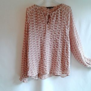 Walter Baker Embroidered Top Size XL